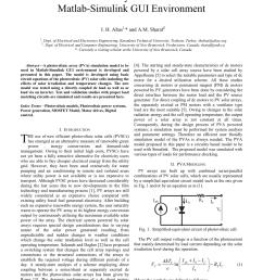pdf grid connected photovoltaic power plant controlled by using flc and cr with dc dc boost converter [ 850 x 1203 Pixel ]