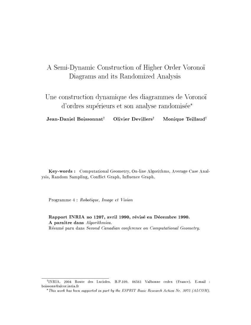 hight resolution of pdf a dynamic construction of higher order voronoi diagrams and its weighted voronoi diagram construction diagramme de voronoi