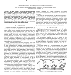pdf a most only r 2r ladder based architecture for high linearity dacs [ 850 x 1203 Pixel ]