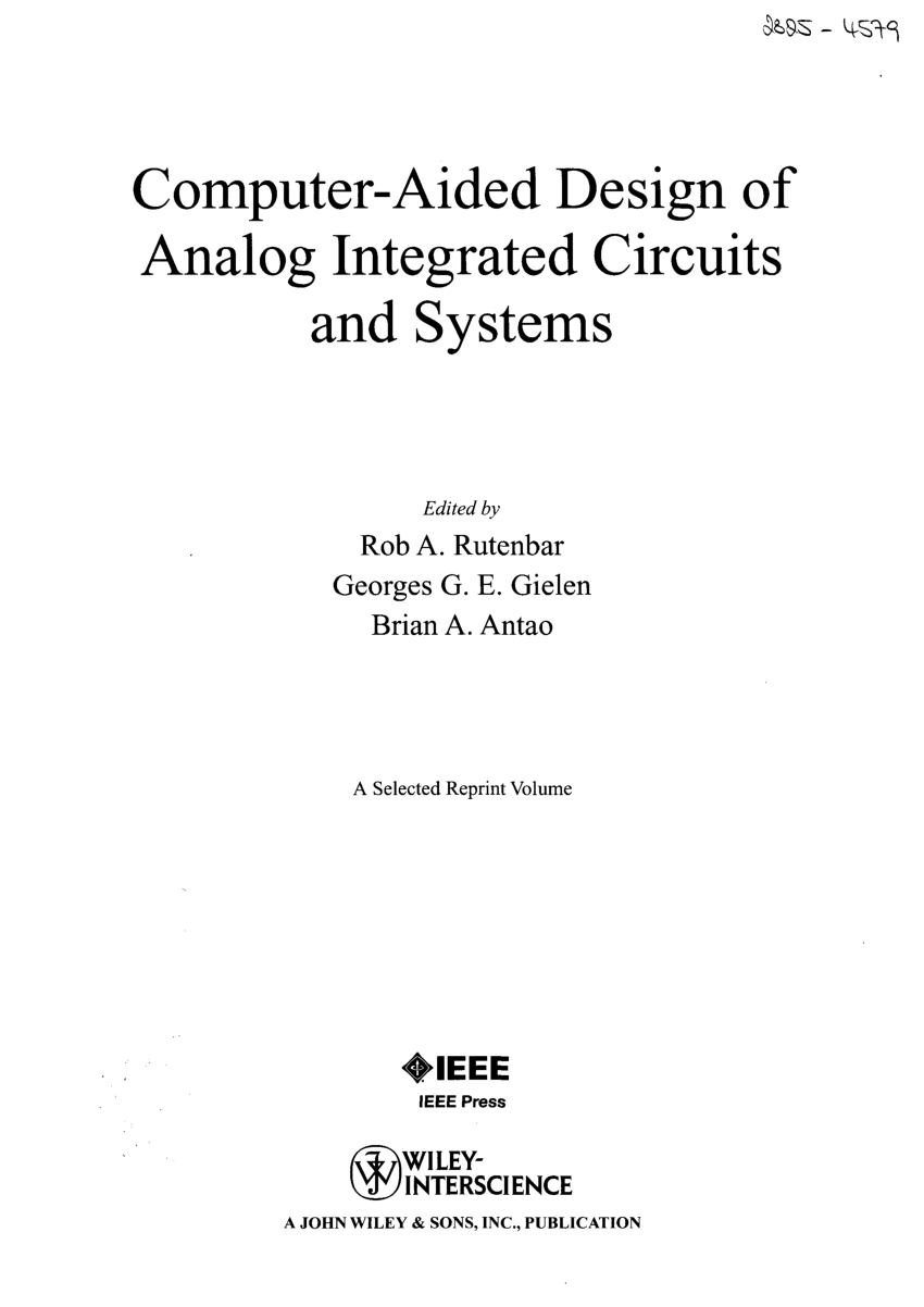 Digital Integrated Circuit Design By Ken Martin