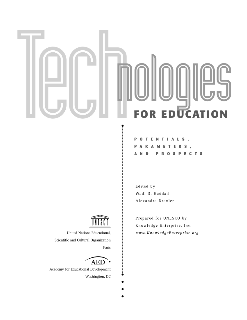(PDF) Emerging trends in ICT and challenges to educational