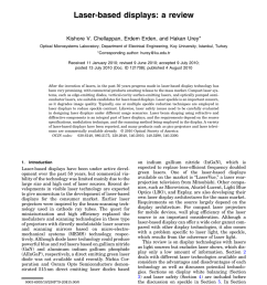 pdf laser based displays a review [ 850 x 1121 Pixel ]