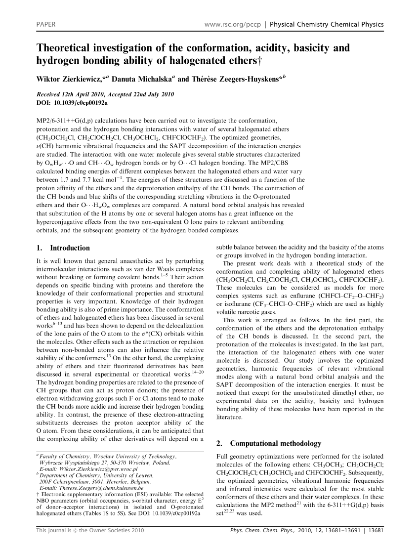medium resolution of analysis of the intermolecular interactions between ch3och3 cf3och3 cf3ocf3 and ch2f2 chf3 shingo urata request pdf