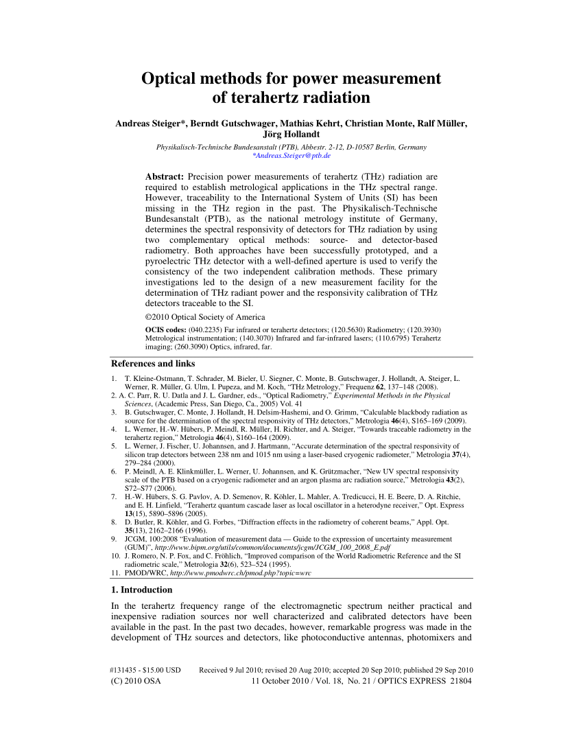 hight resolution of irradiance responsivity of the si bolometer no 1 calibrated with download scientific diagram