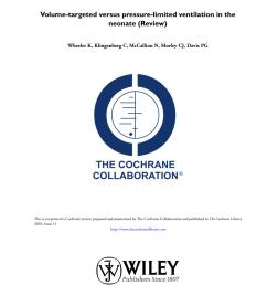 pdf volume targeted versus pressure limited ventilation in the neonate [ 850 x 1203 Pixel ]