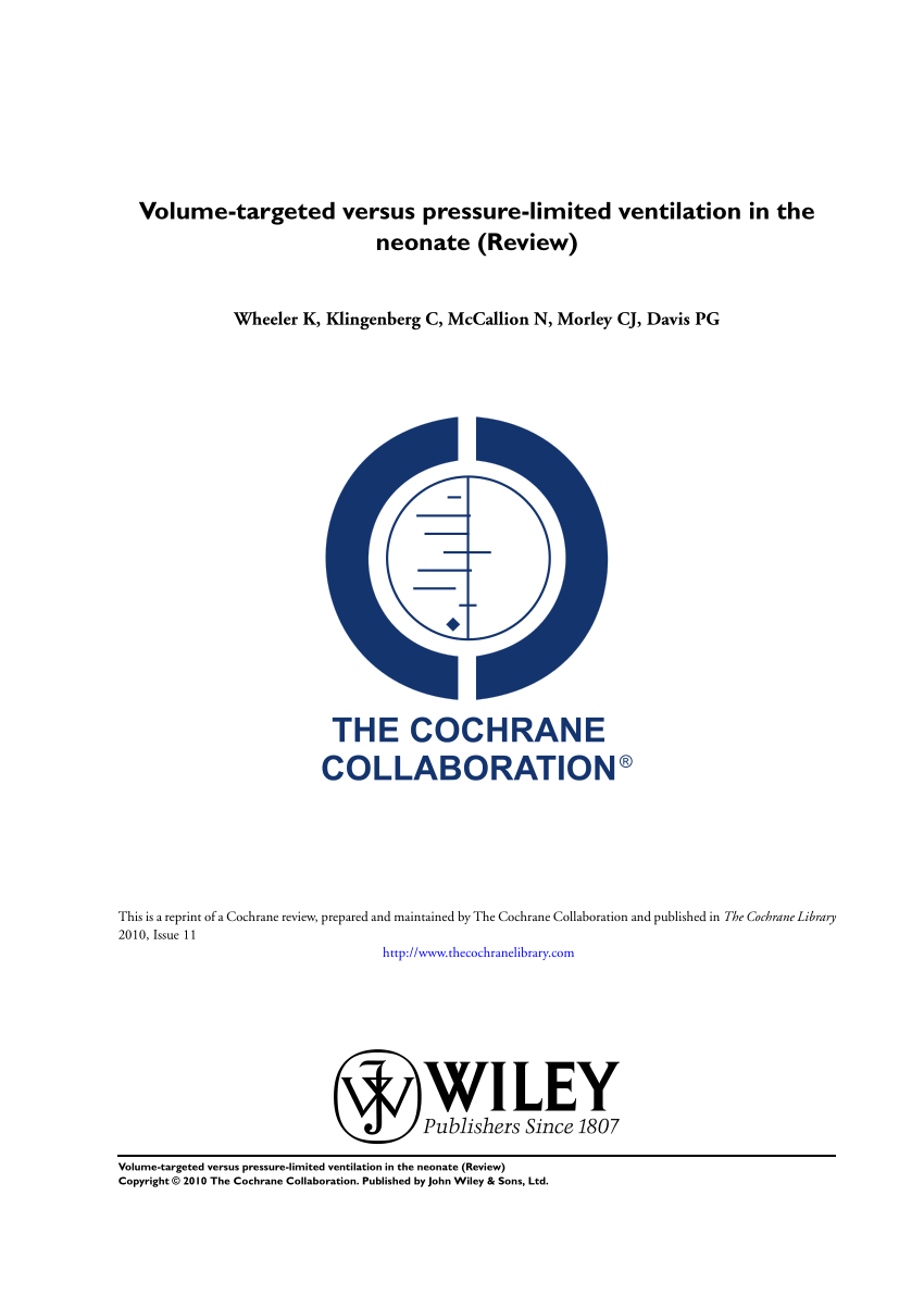 hight resolution of  pdf volume targeted versus pressure limited ventilation in the neonate