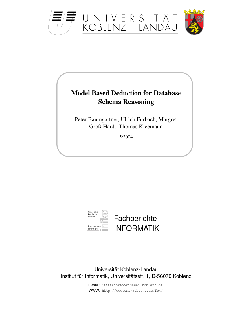 medium resolution of  pdf model based deduction for database schema reasoning