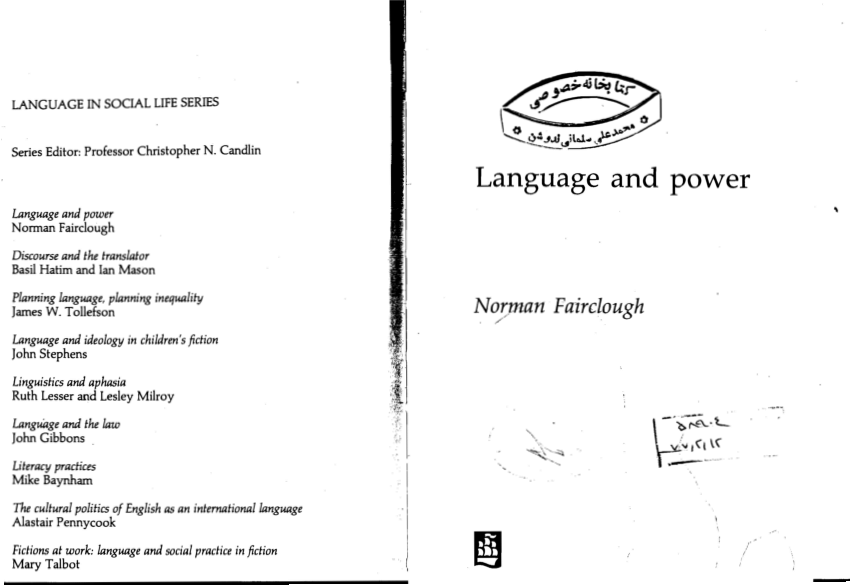 (PDF) Language and Power