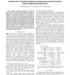 pdf a framework of medical equipment management system for in house clinical engineering department [ 850 x 1100 Pixel ]