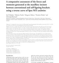 pdf a comparative assessment of the forces and moments generated at the maxillary incisors between conventional and self ligating brackets using a reverse  [ 850 x 1123 Pixel ]