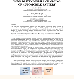 pdf wind energy based mobile battery charging and battery applications [ 850 x 1100 Pixel ]