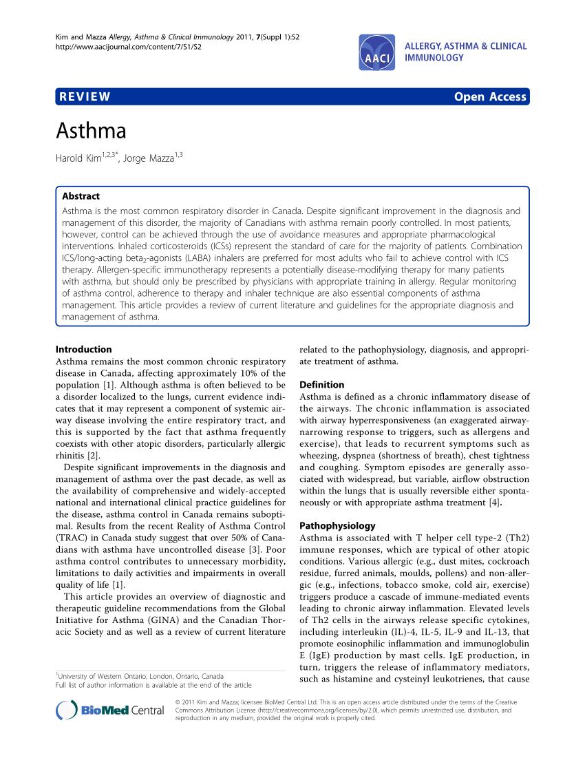 PDF Asthma