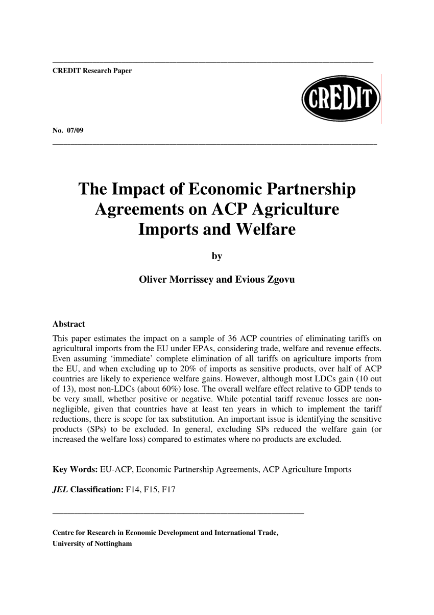 Some Simple Analytics of the Trade and Welfare Effects of Economic ...