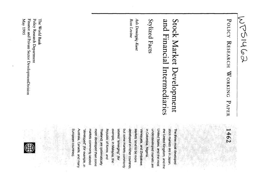 (PDF) Stock Market Development and Financial
