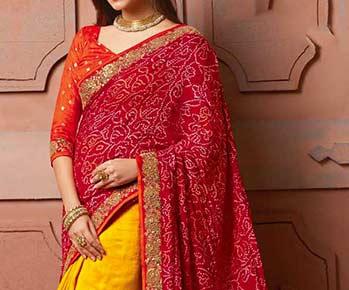 Bandhani Bandhej Lehria Kota Doria & More From Rajasthan