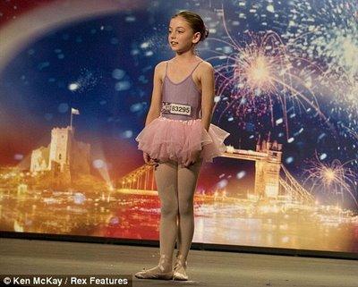 英國超女又出牛人 10歲芭蕾娃娃成蘇珊大媽勁敵_新浪女性_新浪網