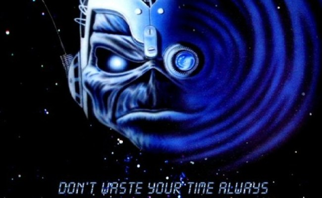 Iron Maiden Wasted Years By Stratus Axarlis Free