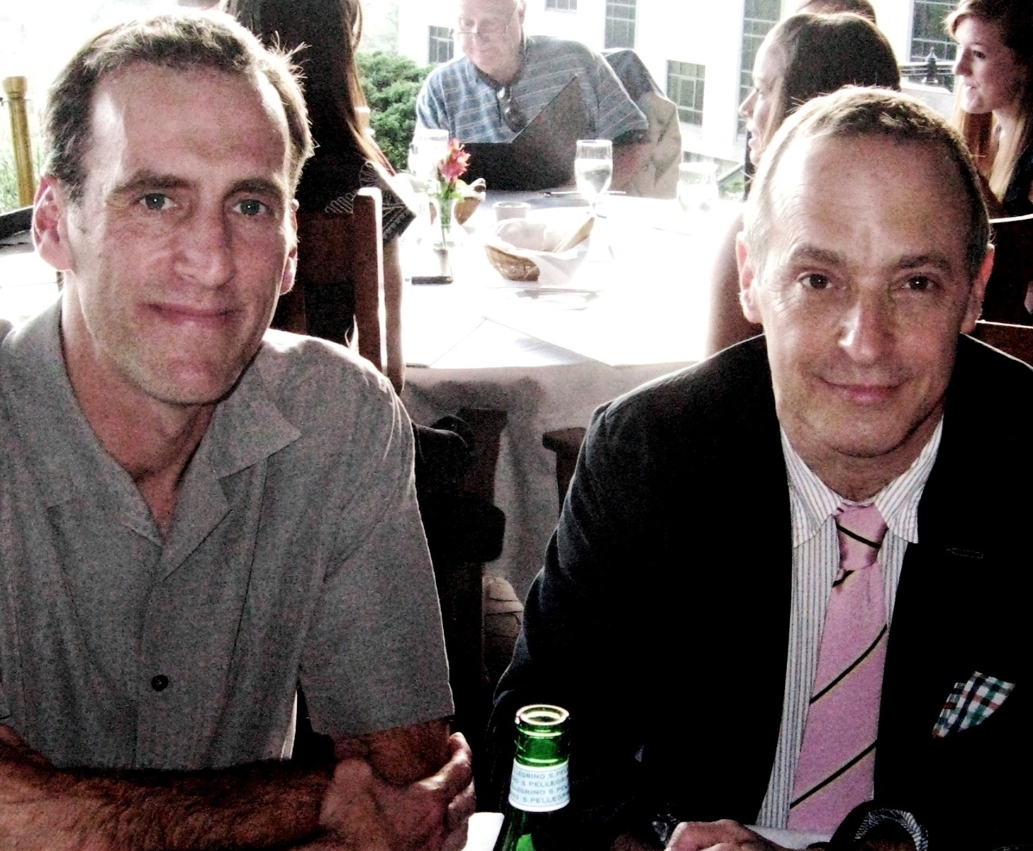 Tim Johnston and David Sedaris - peoplewhowrite