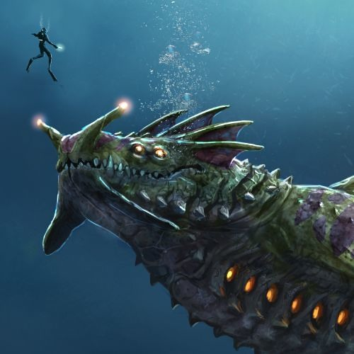 seadragon by sim mix