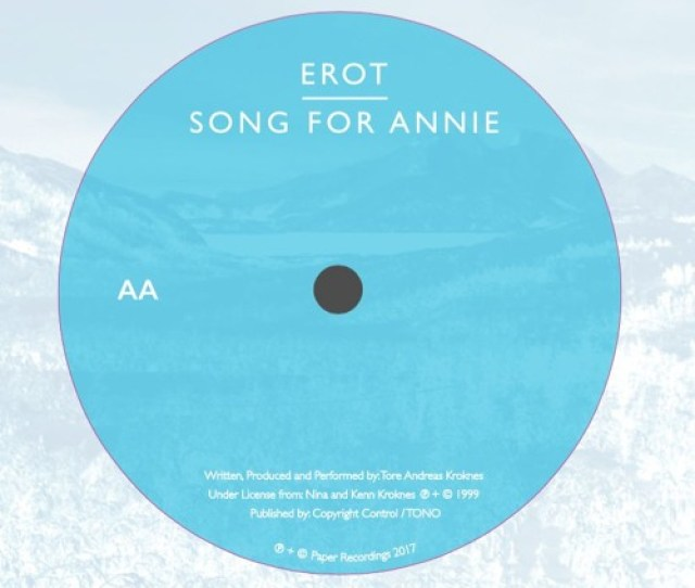 Erot Song For Annie Jammd By Paper Recordings Free Listening On Soundcloud