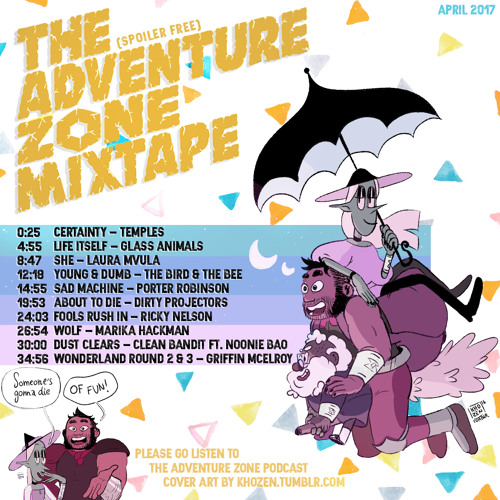the adventure zone mixtape by