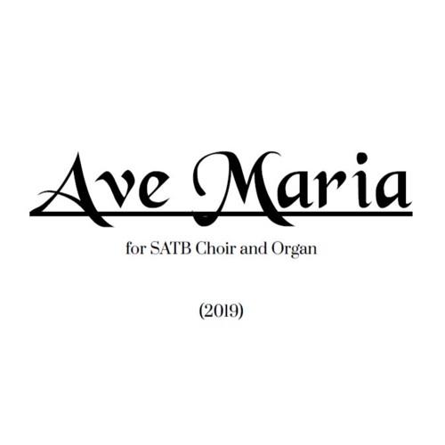 Ave Maria: for SATB Choir and Organ by Tony Manfredonia