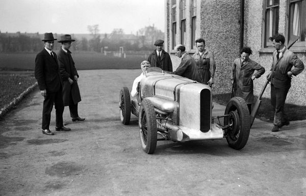 Sir Henry Segrave Captured Land Speed Record Southport Sands In
