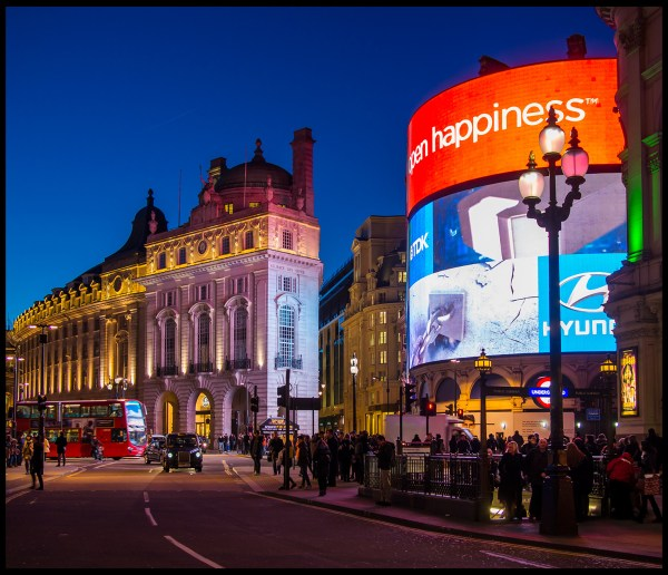 Piccadilly Circus London England Trekearth
