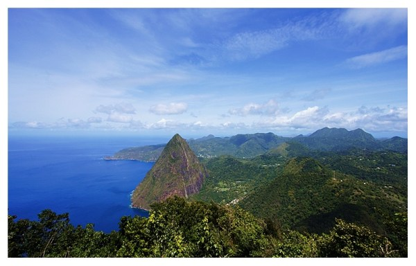 Mountains of the Caribbean a photo from Soufriere South