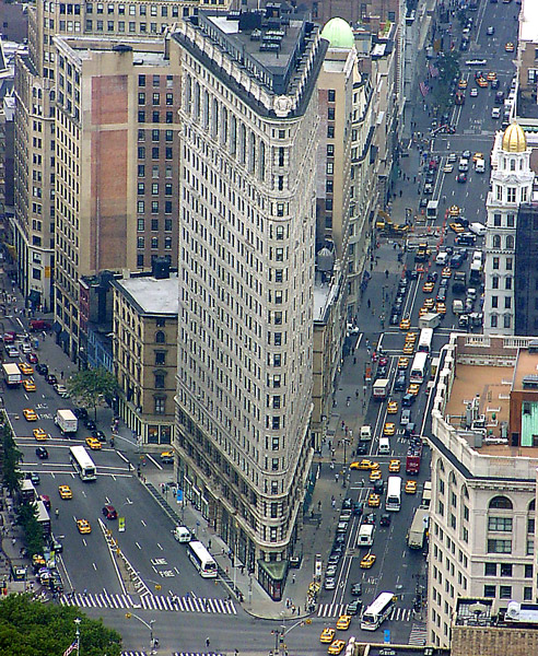 Busy city a photo from New York Northeast  TrekEarth