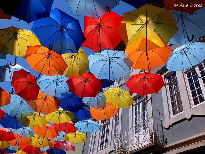 Some Nice Wallpapers With Quotes Colourful Umbrellas Ii A Photo From Aveiro North