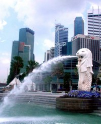 Merlion Spouts Success, a photo from Hougang, North East ...
