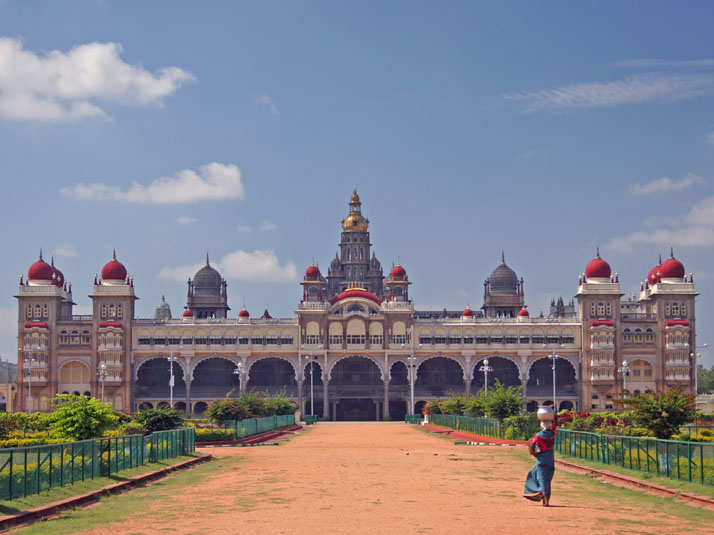 Mysore Palace a photo from Karnataka South  TrekEarth