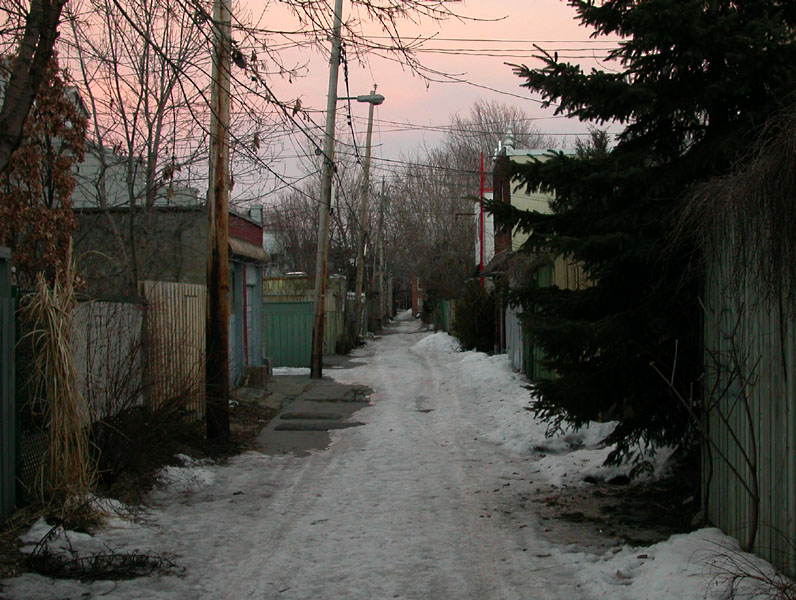 Ruelle a photo from Quebec Central  TrekEarth