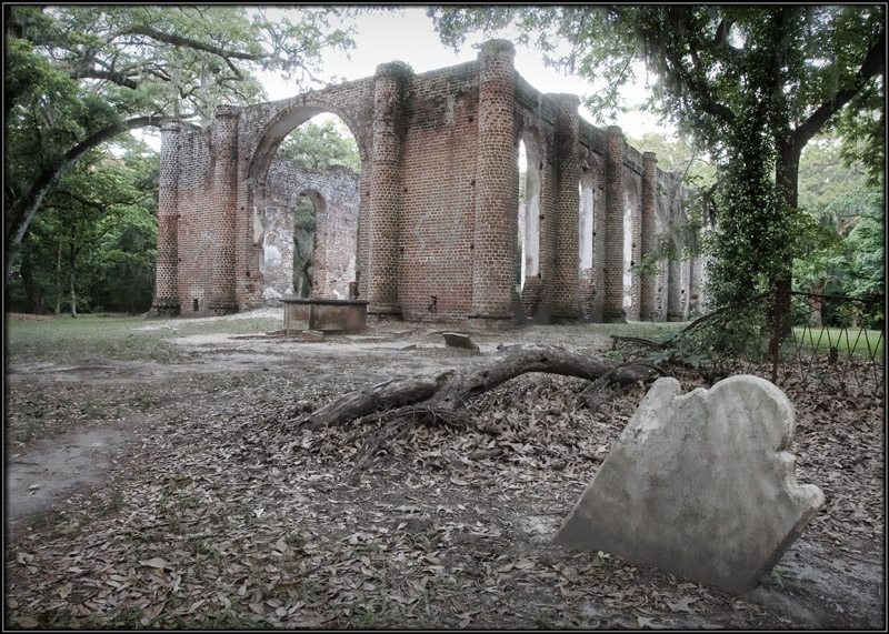 Church Ruins a photo from South Carolina South  TrekEarth