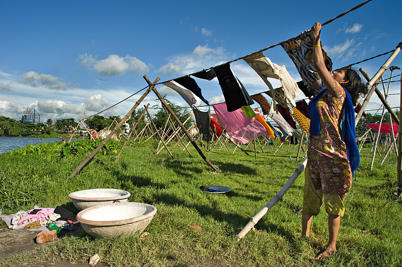 Washerwoman A Photo From West Bengal East TrekEarth