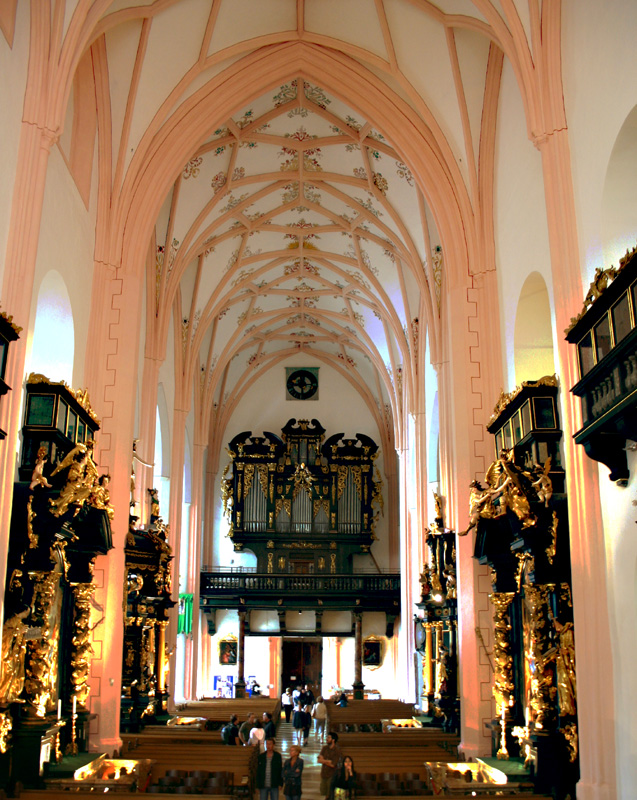 Mondsee Cathedral a photo from Salzburg West  TrekEarth