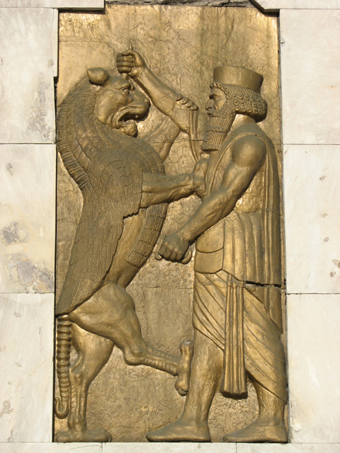 Fight Of King Darius the great & devil - Tehran, Tehran