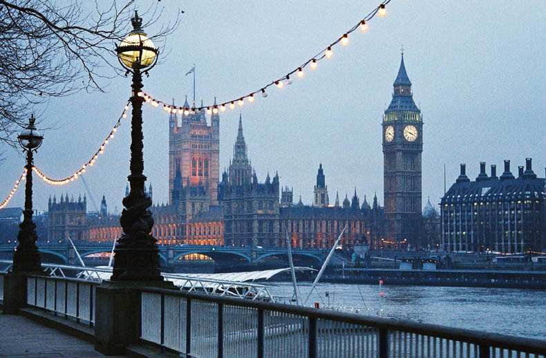 Christmas In London England