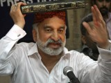 "MQM is a terrorist organisation says Mirza; adds that Rehman Malik is ""hand in glove with terrorists"". PHOTO: PPI"