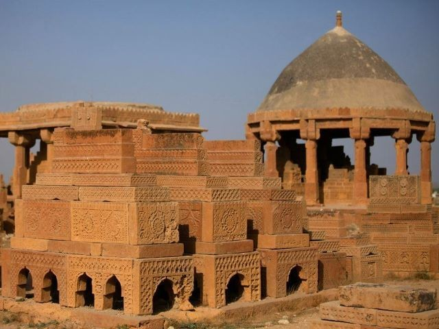 The Chaukhandi tombs are considered unique in the whole Islamic world. PHOTO: FARAH KAMAL