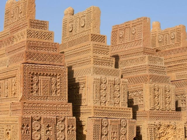 The stone carvings on these graves are extremely detailed, intricate and unique. PHOTO: FARAH KAMAL