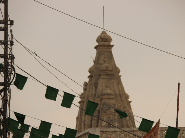 Hindu temple in Pakistan