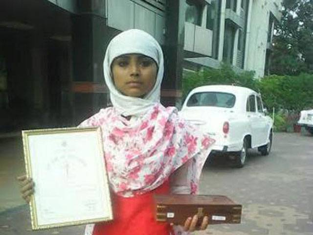 hero Nazia who saved a 6 year old Hindu girl from being kidnapped