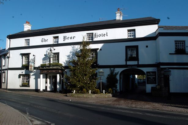 The Bear Hotel in Crickhowell