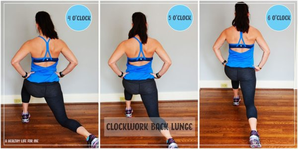 The Clockwork Lunge A Healthy Life For Me