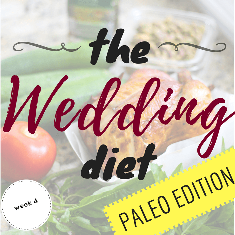 The Wedding Diet Archives  Allys Cooking