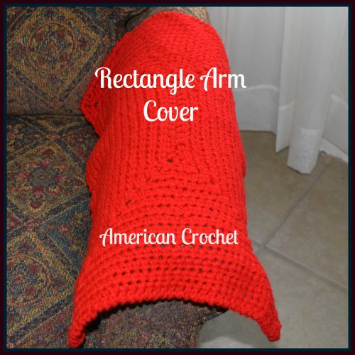 chair and a half cover small chairs for kids rectangle arm | american crochet