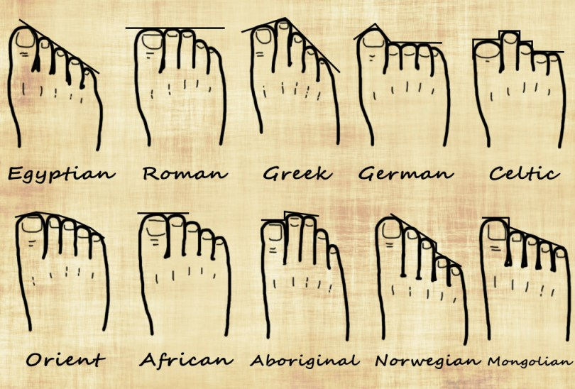 Your Foot Shape and Your Genealogy | Ancestral Findings