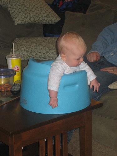 Bumbo Pediatric PT explains why not to use the Bumbo seat